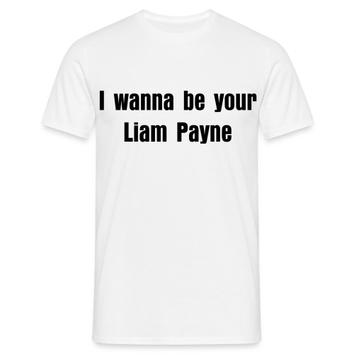 I wanna be your Liam Payne t-shirt - Men's T-Shirt