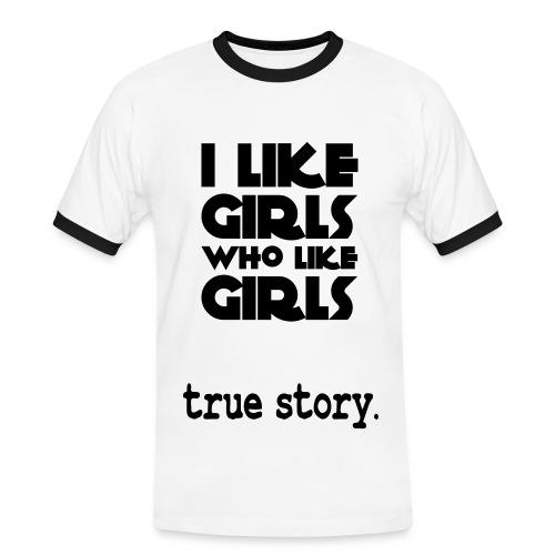 True Story Men's Shirt - Men's Ringer Shirt