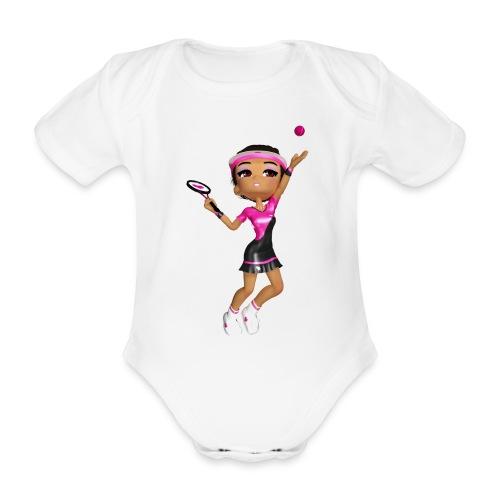 tennis girl 2 - Baby Bio-Kurzarm-Body
