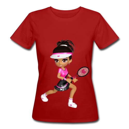 Tennis Girl - Frauen Bio-T-Shirt