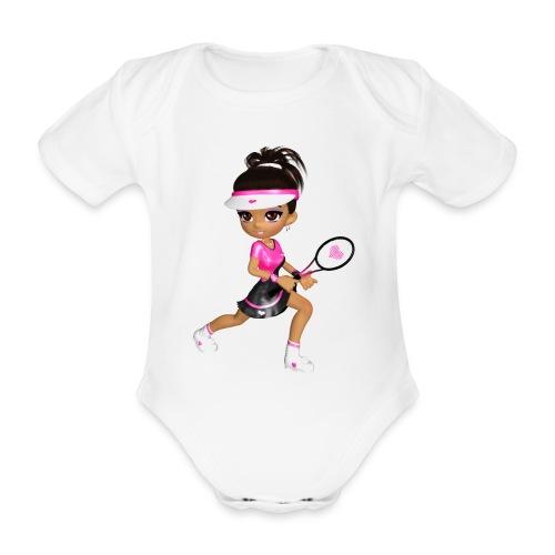 Tennis Girl - Baby Bio-Kurzarm-Body