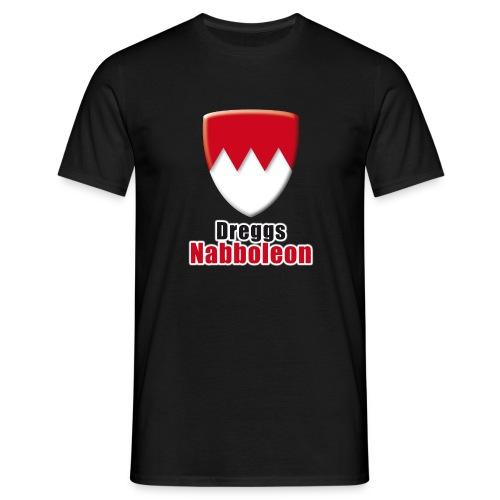 Dreggs Nabboleon (T-Shirtarbe können Sie selber ändern) - Männer T-Shirt
