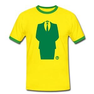 Anon Suit T-paidat - Männer Kontrast-T-Shirt