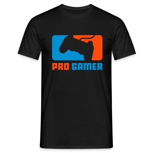 Pro Gamer schwarz - Männer T-Shirt