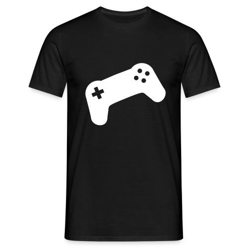 Controller schwarz - Männer T-Shirt