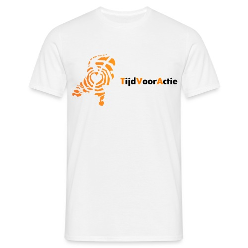 Heren t-shirt | Netwerk TijdVoorActie - Mannen T-shirt