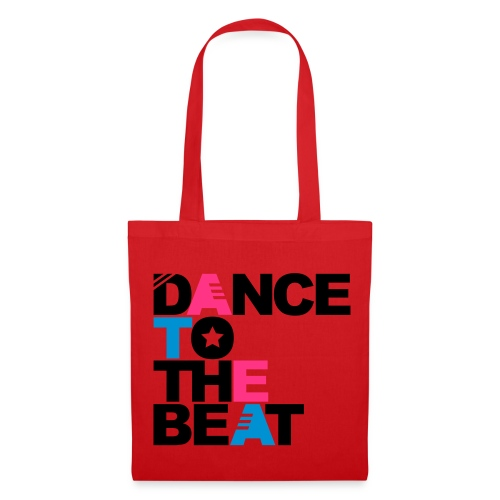 Bolsa dance rojo - Bolsa de tela