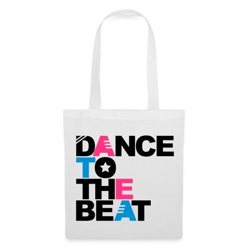 Bolsa dance blanco - Bolsa de tela
