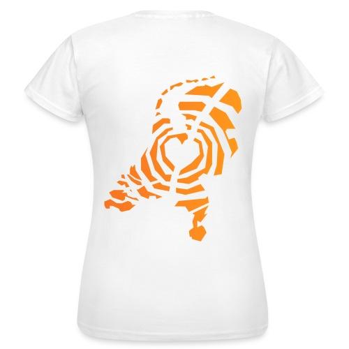 Dames t-shirt | Netwerk TijdVoorActie - Vrouwen T-shirt