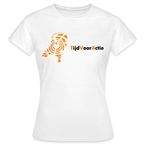 Dames t-shirt | je leven delen | Netwerk TijdVoorActie  - Vrouwen T-shirt
