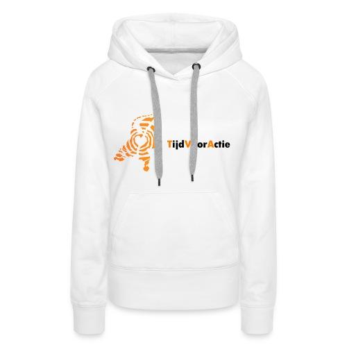 Dames sweater met capuchon | Netwerk TijdVoorActie - Vrouwen Premium hoodie