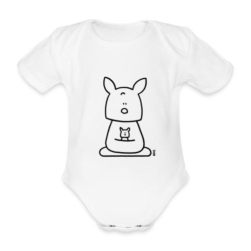 Kangoo Body - Body bébé bio manches courtes