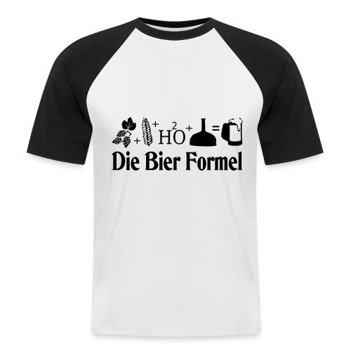 Die Bier Formel - Männer Baseball-T-Shirt