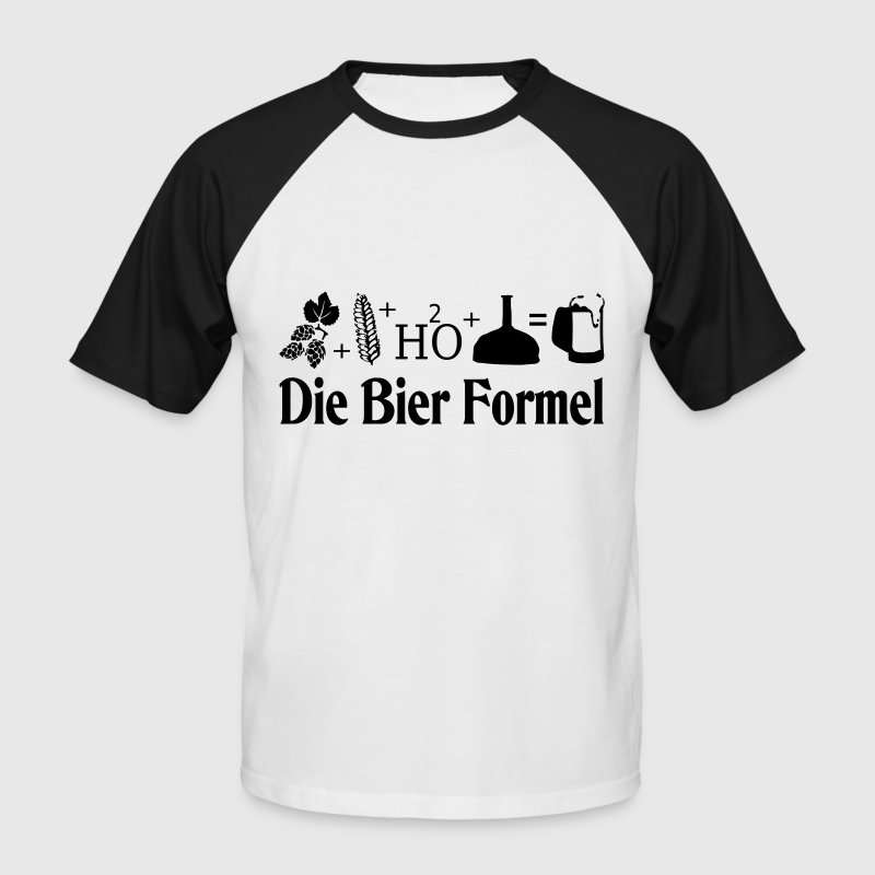 bier formel t shirt spreadshirt. Black Bedroom Furniture Sets. Home Design Ideas