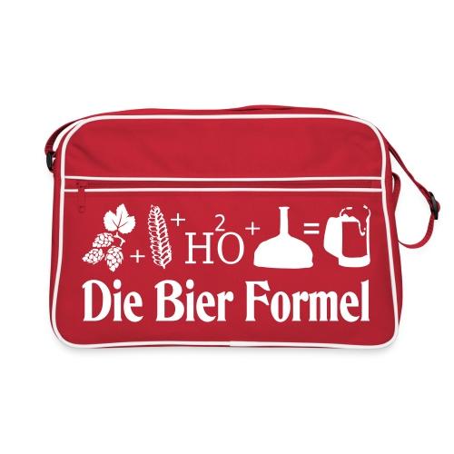 Die Bier Formel - Retro Tasche
