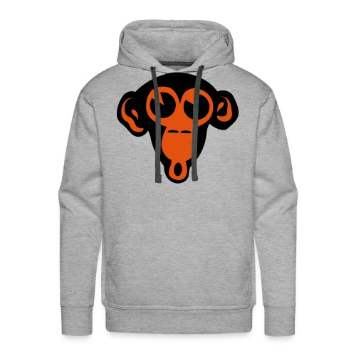 monkey  orange - Mannen Premium hoodie