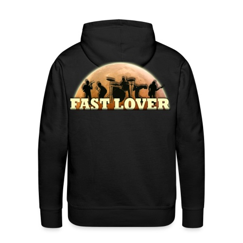 Fast Lover Kapuzenshirt - Männer Premium Hoodie