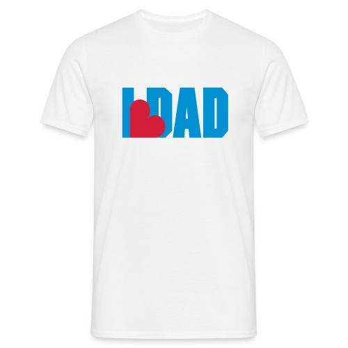 I Heart Dad - Dad - Fathers day Shirt - T-shirt Homme