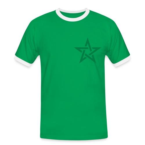 maroc foot vintage - T-shirt contrasté Homme