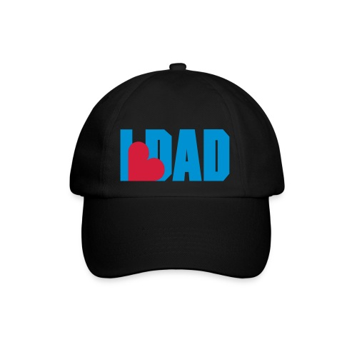 I Heart Dad - Dad - Fathers day Hat / Cap - Casquette classique