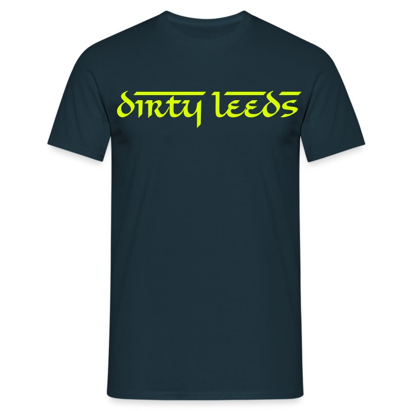 Dirty Leeds (Navy) - Men's T-Shirt