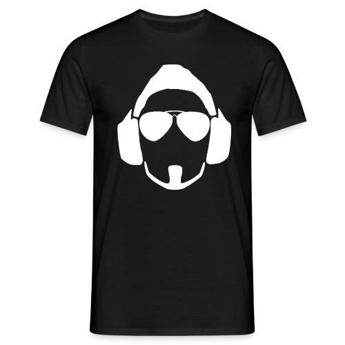 White Head Logo - Men's T-Shirt