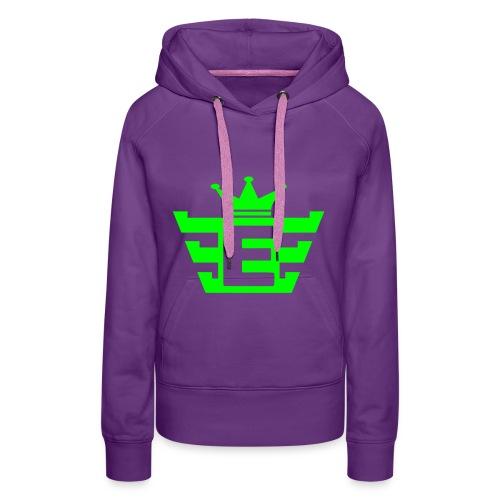 Bekijk linkerarm - Vrouwen Premium hoodie