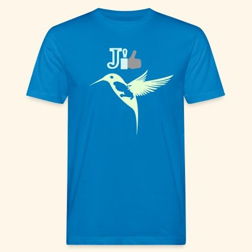 J'aime la Martinique l'île aux fleurs - T-shirt bio Homme