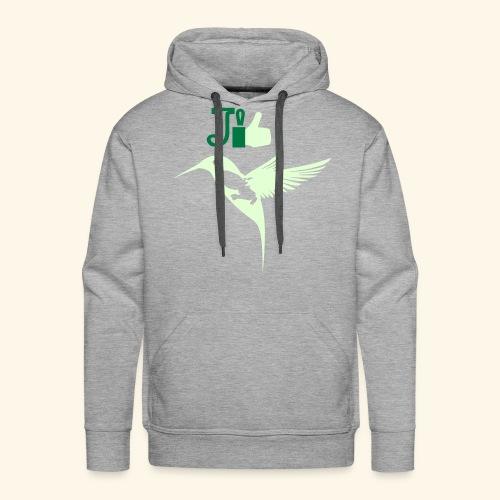 J'aime la Martinique l'île aux fleurs - Sweat-shirt à capuche Premium pour hommes