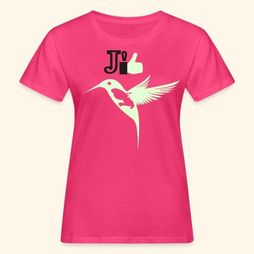 J'aime la Martinique l'île aux fleurs - T-shirt bio Femme