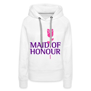 Maid Of Honour 1 (dd)++ Hoodies & Sweatshirts - Women's Premium Hoodie