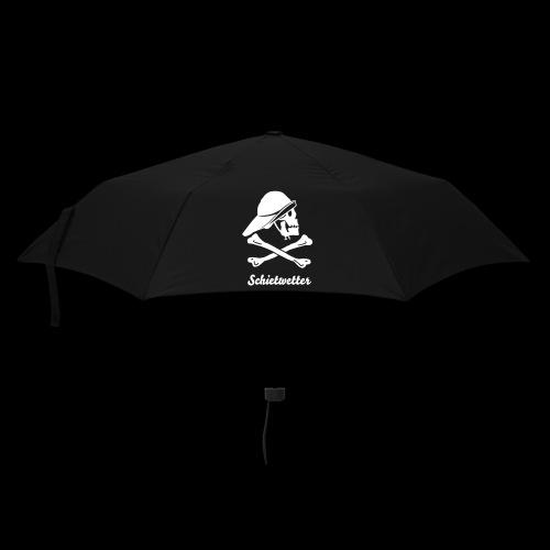 ~ Schietwetter ~ - Regenschirm (klein)