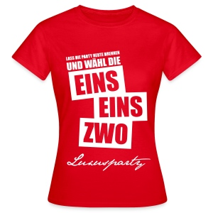 Luxusparty-Shirt - Frauen T-Shirt