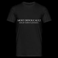 T-Shirts ~ Men's T-Shirt ~ Foucault (male)