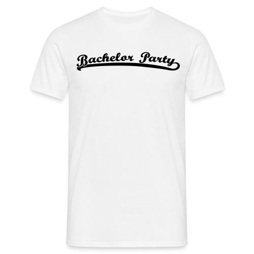 bachelor party retro T-Shirt - Männer T-Shirt
