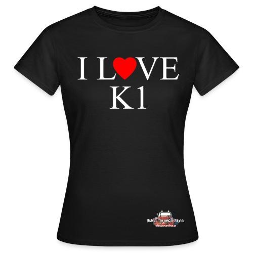 I love  K1 - Maglietta da donna