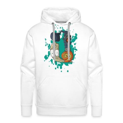 Showersnail design mannen hoodie - Mannen Premium hoodie