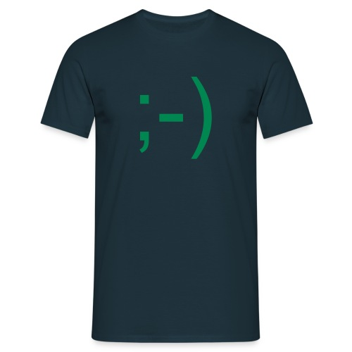 Smile - Männer T-Shirt