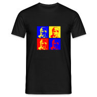 T-Shirts ~ Men's T-Shirt ~ Stane War-hol (male)
