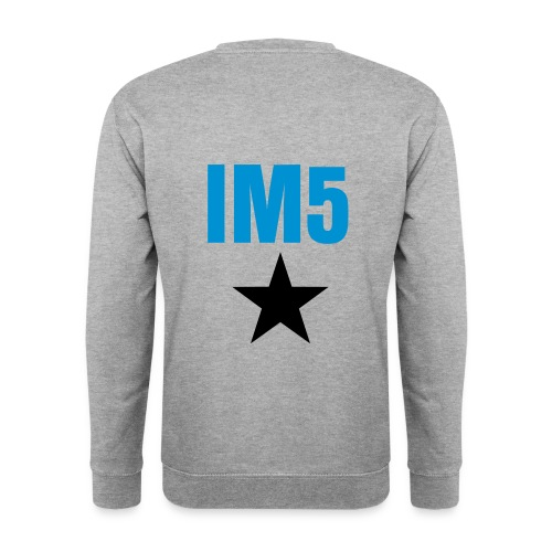 IM5 Star on Back - Men's Sweatshirt