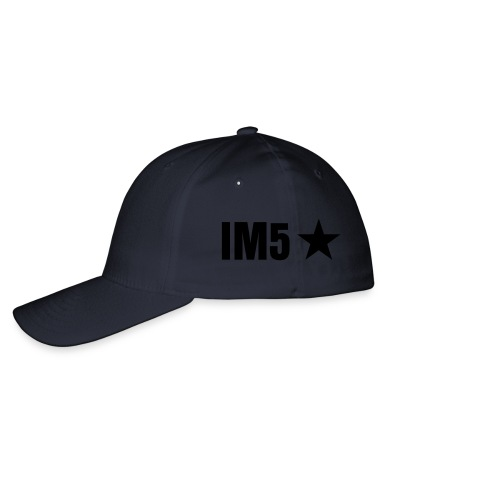 IM5 Snap Back White - Flexfit Baseball Cap
