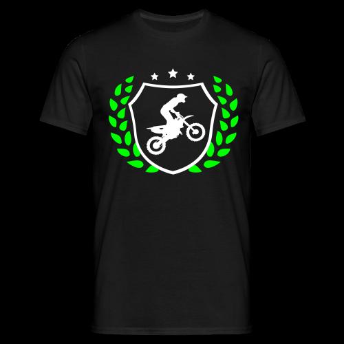 MX shield (vert/blanc) - T-shirt Homme