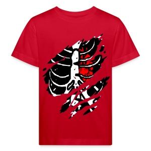 T shirt enfant squelette - T-shirt bio Enfant
