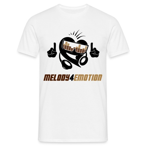 Männer T-Shirt - Brown Style