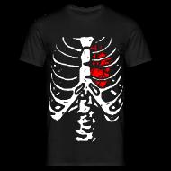 Tee shirts ~ Tee shirt Homme ~ T shirt homme squelette