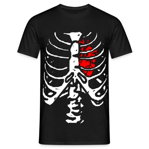 T shirt homme squelette - T-shirt Homme