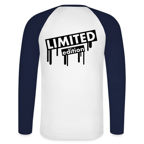 Limited Editon Plu - Mannen baseballshirt lange mouw