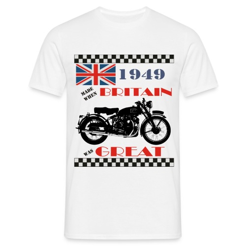 Britain was Great 1949 - Men's T-Shirt