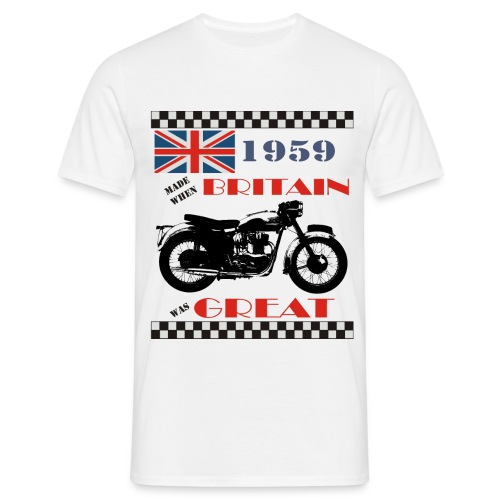 Britain was Great 1959 - Men's T-Shirt