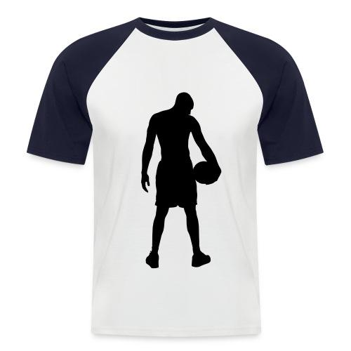 basketball - Mannen baseballshirt korte mouw